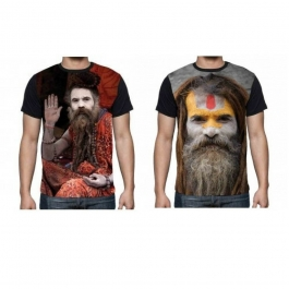 Exclusive Digital Printing Agori Hd T Shirt Combo Of 2