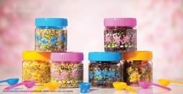 Household Plastic Jar 250ml ( 1pc Jar )