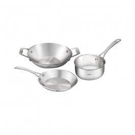 Baltra Stainless Steel Small Gourmet, 3-pieces