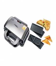 Nova Nsm 2416 2 In 1 Changeable Panini Grill - Grey