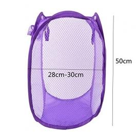 Laundry Basket, Bag For Storage Of Clothes, Toys Stander Size (random Color) (standard) (1 Pice)
