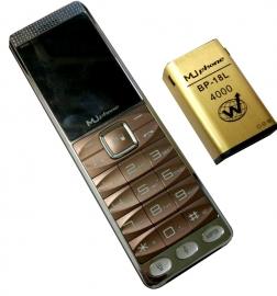 Mu M 390 Big Mobile + Use As Power Bank+free Usb Fan