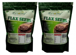 Zindagi Flax Seeds - Best Weight Management Product - 100% Natural Product