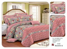 Best Flower Design With Pink Color Comfort 4 Pc Set Brand - Dream Villa