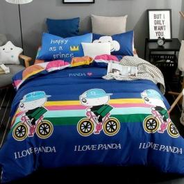 I Love Panda Best Design  Comfort 4 Pc Set Brand - Dream Villa