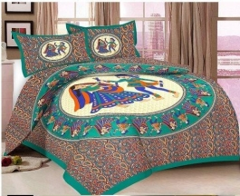 Lively New Bedsheet For Your  Home! Make Your Home Beautiful Best Dandiya Design