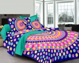 Lively Flower Design Bed Sheet For Your Home