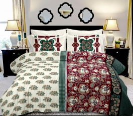 Combo Of 5 Double Bed Sheet  Diwali Offer