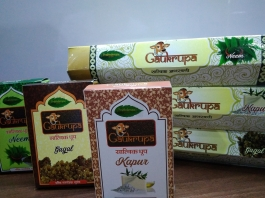Gaukrupa Satvik Organic Agarbatti And Dhoop Combo