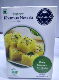Food On Go Instant Khaman Masala Combo Of 5