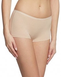 Kavjay Women's Boy Short Beige Panty (pack Of 1)