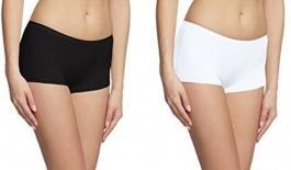 Kavjay Women's Short Multicolor Panty(pack Of 2)