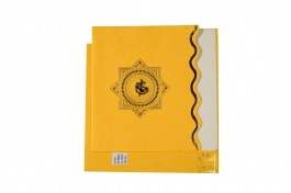 Wedding Invitation Card Yellow Wedding Invitation Pack Of 100