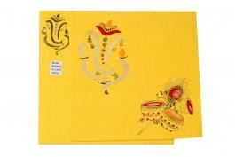 Wedding Invitation Card Yellow Wedding Invitation Pack Of 100