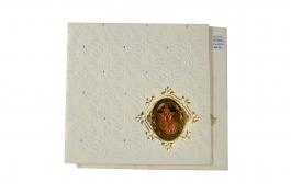 Wedding Invitation Card White Wedding Invitation Pack Of 100