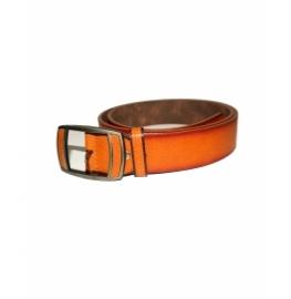 Men's Classic Leather Belt,light Brown Colors, Regular Big & Tall Sizes