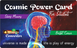 Cosmic Power Card For Students
