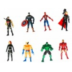 8 In 1 Twist And Move Avengers Super Heros Action Figure Set