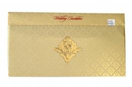 Wedding Invitation Card Golden Wedding Invitation Pack Of 100