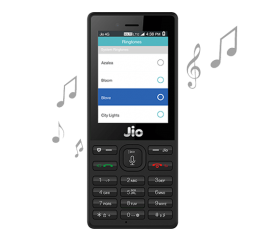 Jio Keypad Feature Phone Black, 512 Mb Ram/4gb Rom With Torch Jiophone