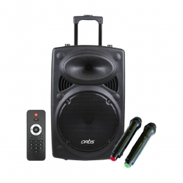 Artis Bt912 Wireless Trolley Bluetooth Speaker With Usb /fm/tf Card Reader/aux In/mic