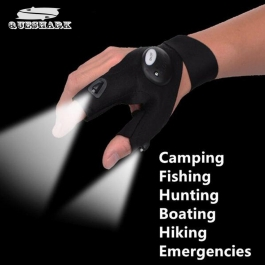 Led Light Gloves Flashlight Torch Hand Emergency Light