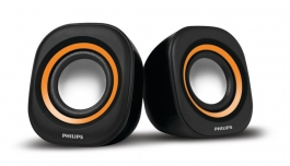 Philips In-spa25g/94 Usb Speakers (orange)