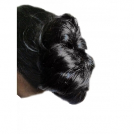 Jio Beautiful Black Bun For Ladies