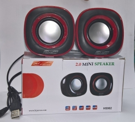 Hipersong Hs902 Usb Powered Mini 2.0 Speaker (black)