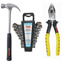 Kag P-801 3 Pc Home Hand Tool Kit (10 Tools)