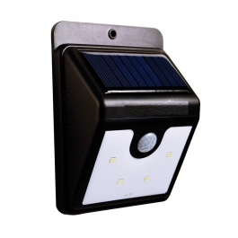 Solar Power Led Light Outdoor Motion Activated Sensor For Home Garden, Balcony, Main Door And Other Outdoor Areas