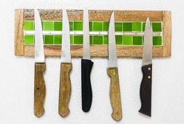 Barish Magnetic Knife Holder-green