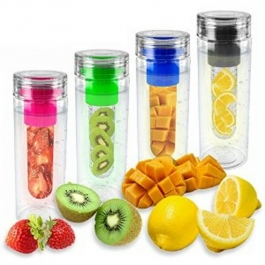 Eco Friendly Water Bottle New Fruit Infuser Water Bottle 800ml Plastic Raw Material