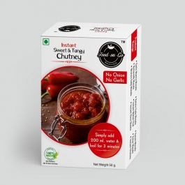 Instant Sweet & Tangy Chutney Combo Of 5