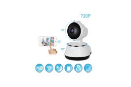 V380 Phone App Hd 720p Mini Ip Camera Wifi Camera Wireless P2p Security Camera Night Vision Ir Robot Baby Monitor Support 64g