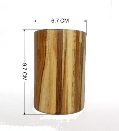 Mannbhav Wooden Glass For |fruit Juices | Milk | Coffee  250 Ml