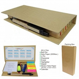 Everything Essential Executive Combo Stationary Kit For Office/home/college/school/travelling