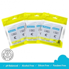 Freshca Refreshing Wet Wipes Lemon  Zip