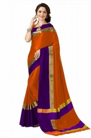 Cotton Silk Ethnic Sarees