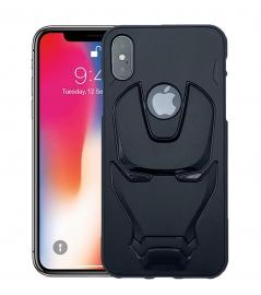 Ajm Premium Quality 3d Design Matte Finish Soft Rubberised Back Cover For Apple Iphone X
