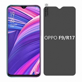 AJM Premium Quality 0.3M 2.5D Privacy Edge to Edge Tempered Glass For Oppo  R17/R17 Pro