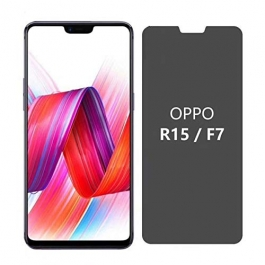 AJM Premium Quality 0.3M 2.5D Privacy Edge to Edge Tempered Glass For Oppo F7