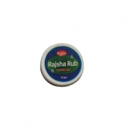 Rajsha Cold Care Rub Balm 5gm