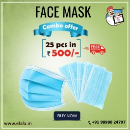 Face Mask 25 Pcs