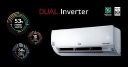 Lg 1.5 Ton 3 Star Dual Inverter Ac