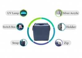 Portable Sanitizer Bag