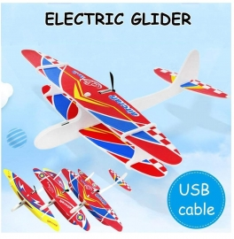 Combo 4 Pcs. Airplane Toy - Glider Plane with Electric Motor ( Set of 4 )
