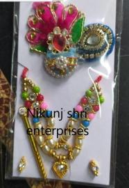 Thakurji Shringar items