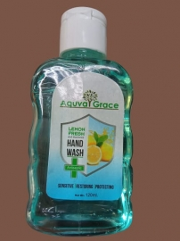 Aquva Grace Lemofresh Hand Wash 120 Ml  (combo Of 10)