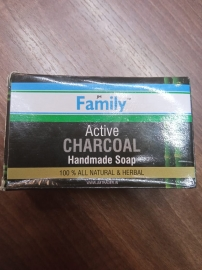 Active Charcoal Handmade Soap ( Combo Of 3 )